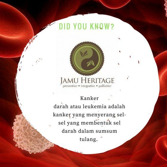 Kanker darah Leukimia